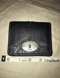 black leather bi-fold wallet Centreville, 20120