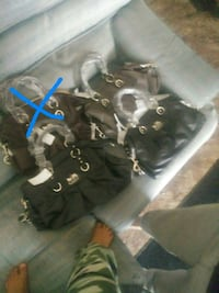 black couch purses