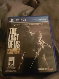 Ps4 game the last of us  Hamilton