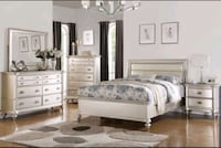 queen bed frame only  Garland, 75040