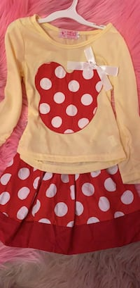 white and red polka dot sleeveless dress Ontario, 91761