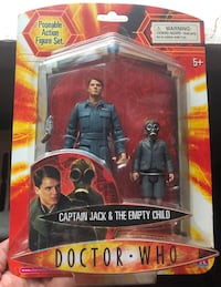 Collectible Doctor Who. Captain Jack&the Empty Child. Original Package Toronto, M6S 1R8