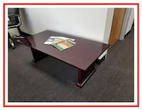 * * LIKE NEW CHERRY WOOD COFFEE TABLES ! ! ! ! * * can deliver Rancho Cucamonga