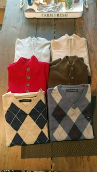 Six Sweaters (all 6 $20) Knoxville