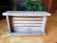 Solid Barn/Pallet Wood Wine Rack Dorval, H9S