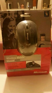 Micrososft wireless mobile mouse 4000