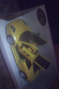 yellow and black sports coupe scale model Sacramento, 95827