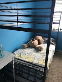 2 grey bunk beds Edmonton, T5T 6Z9
