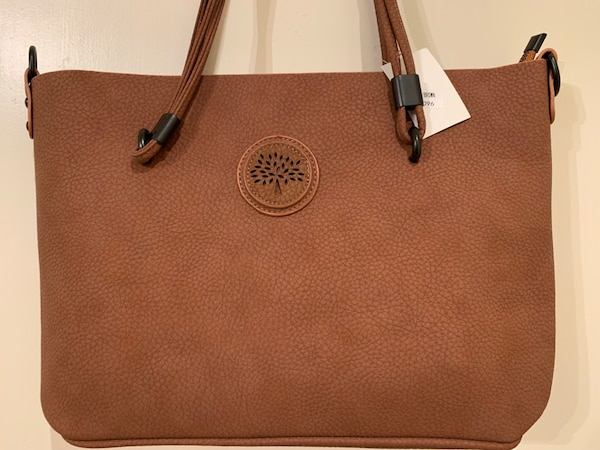 Used brown Michael Kors leather tote bag for sale in Birmingham - letgo 42948f3b75818
