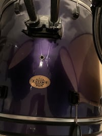PEARL Drum Set. Complete Kit with upgrades