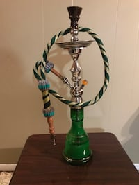 Green and silver hookah pipe  Riverdale, 20737