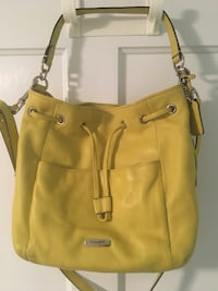 Genuine leather coach bucket bag  Cooperstown, 13326