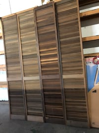 Bifold door set of 2  for $100.00 each set imported from Brazil Dunnellon, 34432