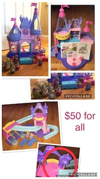 toddler's assorted-color plastic toy lot collage Tiverton, 02878
