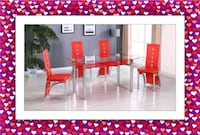 Marble Table New with 4 Chairs Silver Spring, 20906