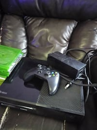 black Xbox One console with controller Washington, 20010