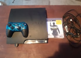 """Console, one controller, one game """"call of duty, modern warfare 3"""""""
