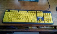 Keyboard easy to see and read Saint Thomas, N5P 3M7