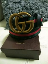 black Gucci leather belt with box Medford, 02155