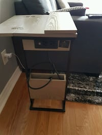 Charging side table. Expandable. Price negotiable. Mississauga, L4Z 4E1