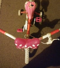 toddler's pink and white trike Waldorf, 20601