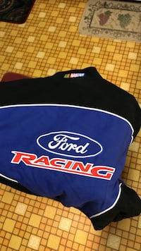 Blue and black Ford racing suit xxl