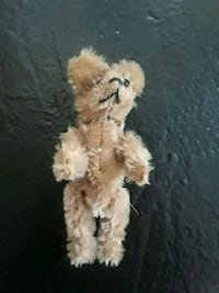 """Vintage """"two faced"""" bear. 3 1/2 inches. Hagerstown, 21740"""