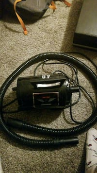 black and gray canister vacuum cleaner Edmonton, T5P 1S3