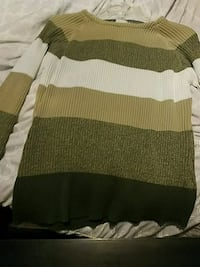 green and white knit sweater Aynor, 29511