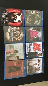 eight blu-ray movie cases Shawville, J0X 2Y0