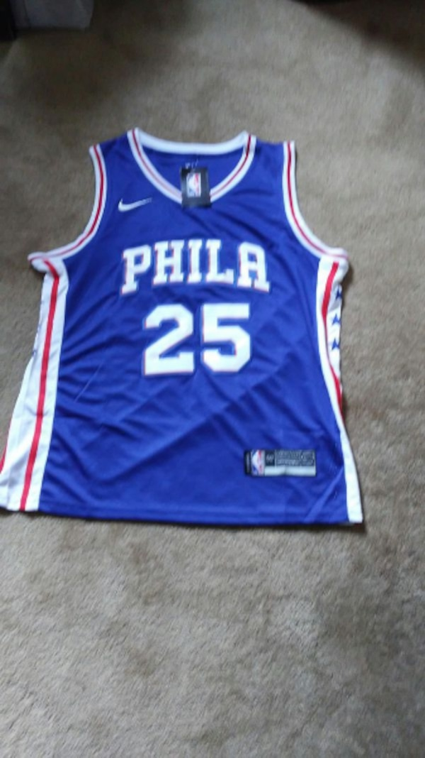 Used Ben Simmons Jersey Youth Large NWT for sale in Philadelphia - letgo 929a79c20