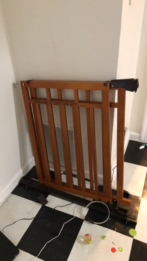 top of stairs baby gate