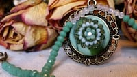 Polymer clay necklace-Christmas gift Calgary, T3A 1R5