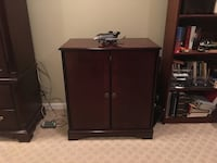 Walnut TV cabinet.  Brookhaven, 30319