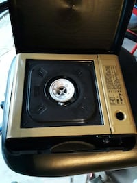 silver and black portable gas stove Houston, 77072