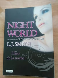 Libro Hijas de la noche - L.J Smith  Madrid
