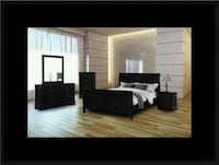11pc black bedroom set McLean