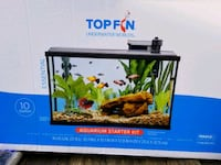 Top Fin 10 gallon starter kit, new Monrovia, 21770
