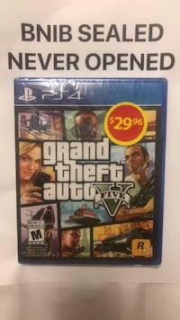 Grand theft auto five ps4 game 552 km