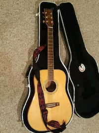 brown dreadnought acoustic guitar in case West Windsor Township, 08550