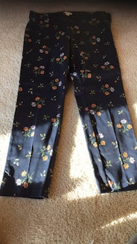 blue and green floral pants Center Line, 48015