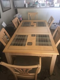 Dining Table with 6 chairs Greenwood Village, 80111