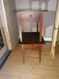 Mahogany side tables