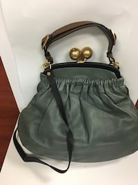 Marni Green leather handbag Toronto, M6A 2R2