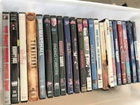assorted DVD movie case lot Los Angeles, 91356