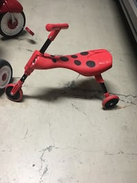 red and black trike McAllen, 78501