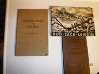 Old German books from 1931 DANVERS