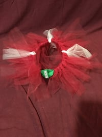 Red and White Tutu Edmonton