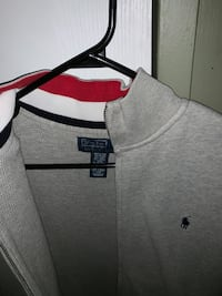 gray Ralph Lauren zip-up hoodie Calgary, T1Y 1G9