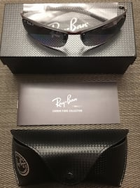 Ray-Ban RB 8305 Red Carbon Fiber Polarized Sunglasses!